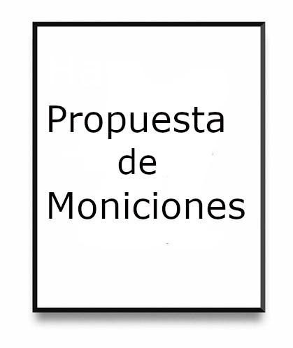 Propuesta de Moniciones